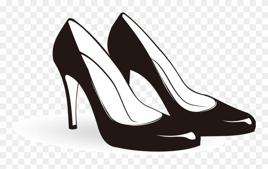 clip transparent download Shoe heeled footwear sneakers. High heel clipart