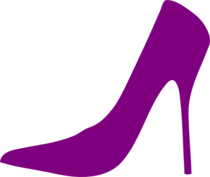 royalty free library Purple Heels Clipart