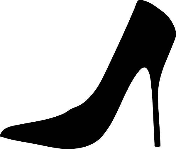 svg library download High Heel Shoe Silhouette Clip Art at GetDrawings