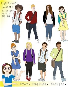 clip art free stock Pin on teen clip. High school students clipart.