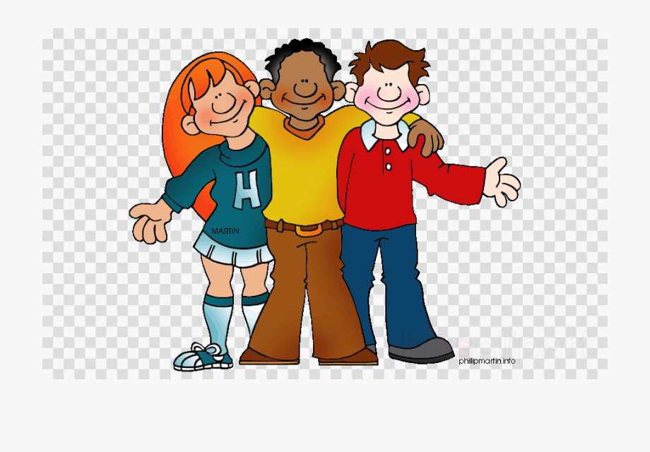 vector library download Student people transparent png. High school students clipart.