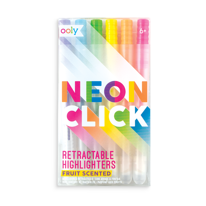 png download Neon Click Scented Retractable Highlighters