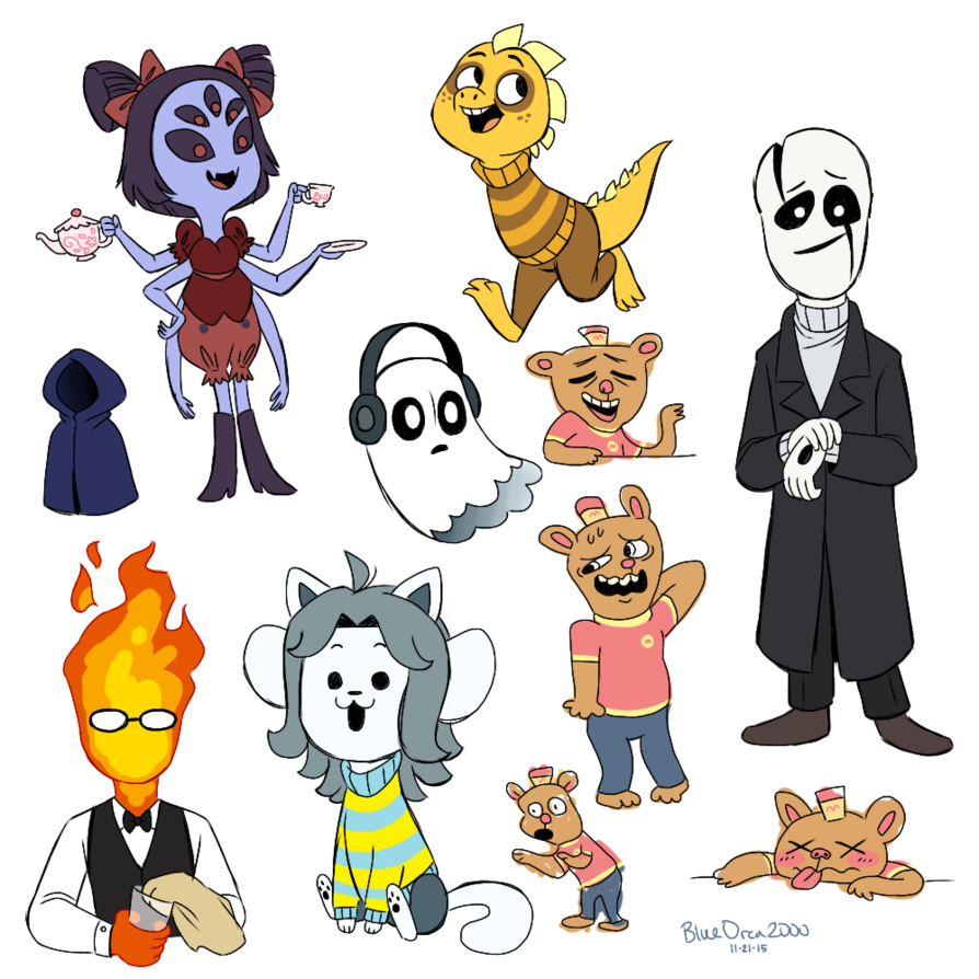 vector royalty free stock Undertale characters by blueorca. Drawing s character