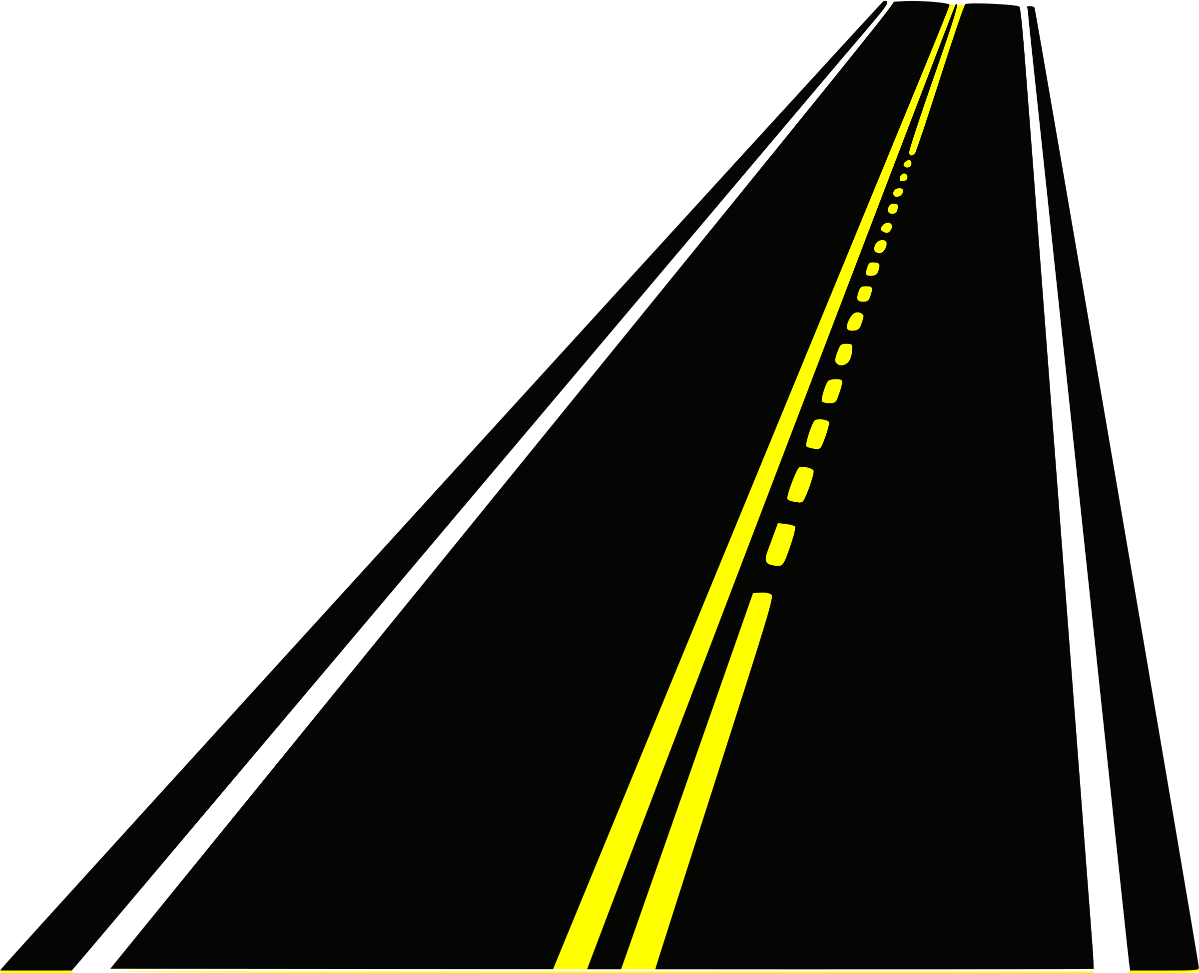 clipart stock Road ahead free on. Highway clipart.