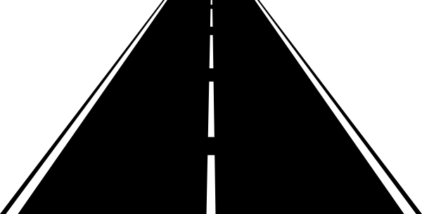 banner library library Highway Clipart rough road