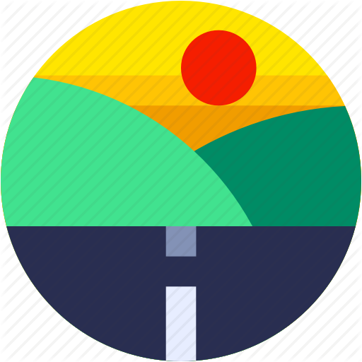 picture freeuse library Highway Clipart circle road
