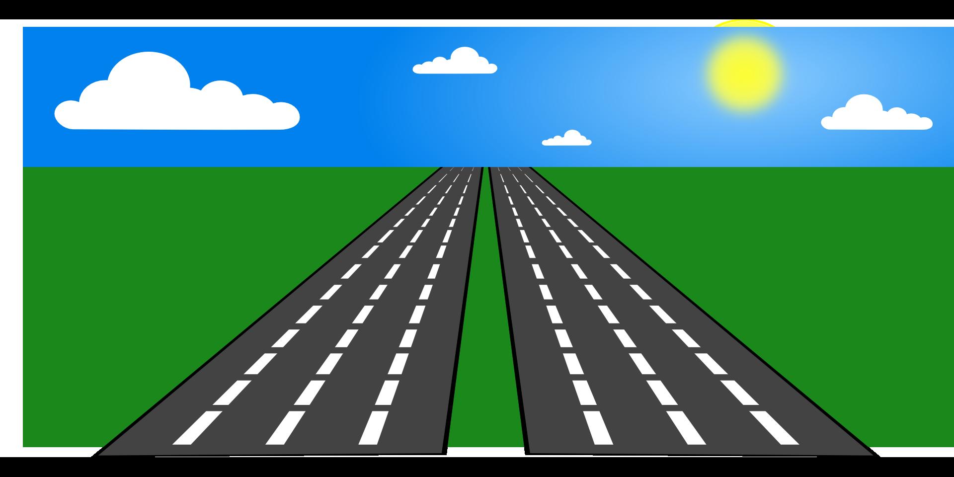 clip Clip art transprent png. Highway clipart road sky