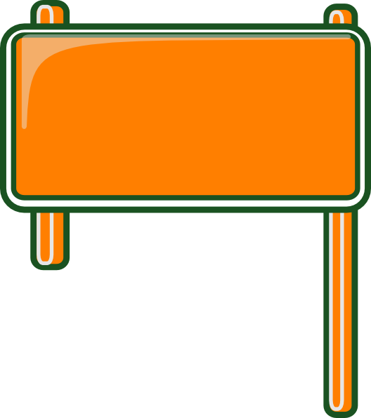 jpg transparent download Board clip template. Highway sign blank art