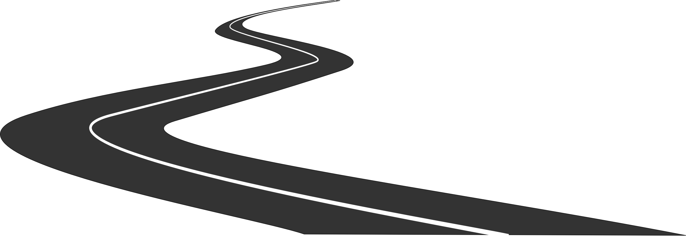 svg black and white download Straight Road Png