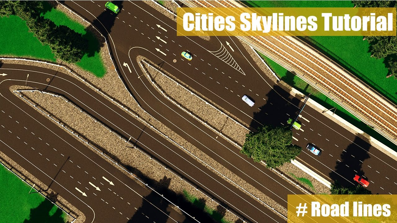svg free download Cities skylines tutorial fastest. Highway drawing broken road