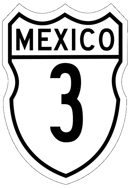 picture royalty free library Mexican Federal Highway