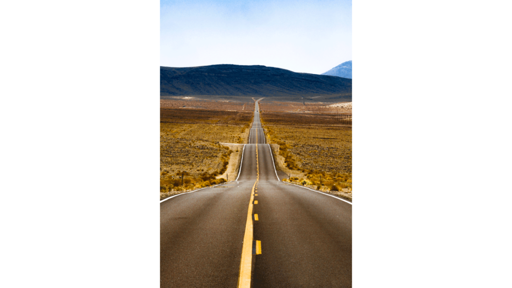 clip art library highway drawing modern landscape #97700870