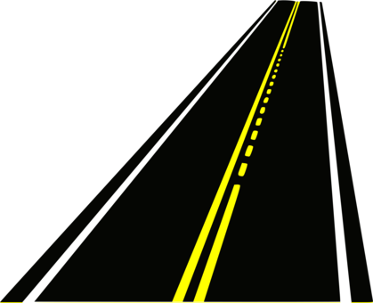 svg black and white Road surface Drawing Highway free commercial clipart