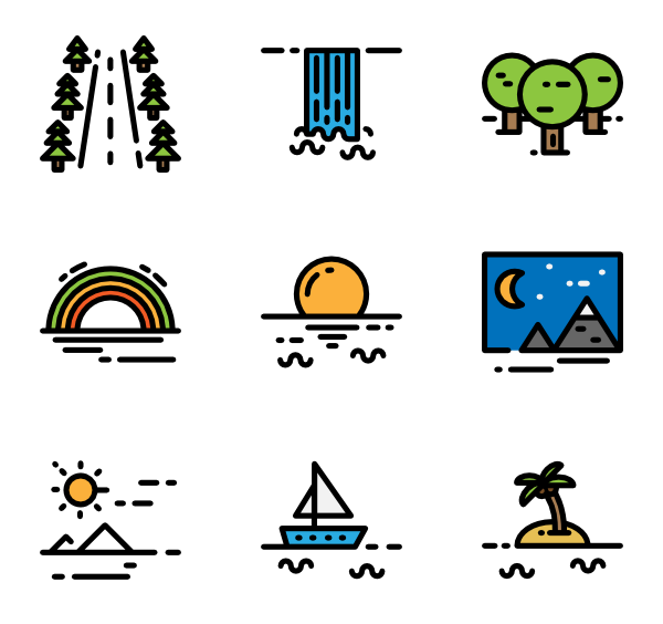 graphic freeuse library Highway Icons