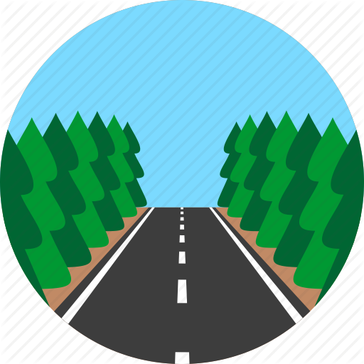 png free library Icons of road landscapes