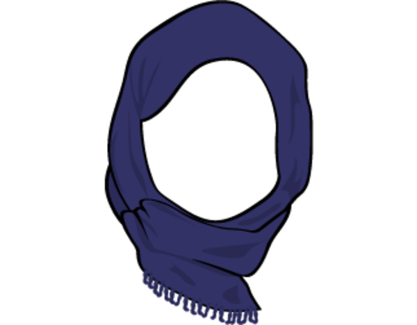 picture transparent stock Free images at clker. Hijab vector.
