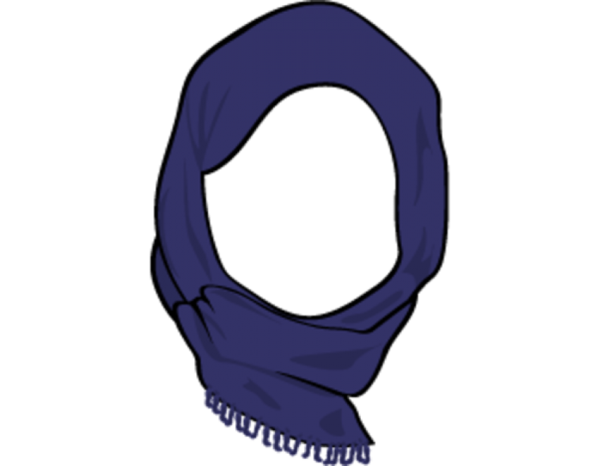picture transparent stock Collection of free Cill clipart head scarf