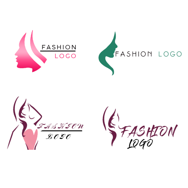 image black and white library Clothes vector logo. Fashion clothing free template