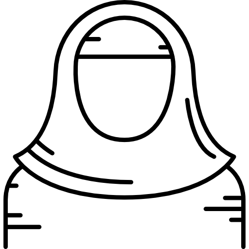 picture royalty free hijab vector white #97726046