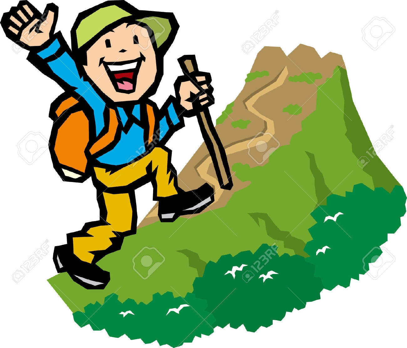 vector download Hiking take a transparent. Hike clipart