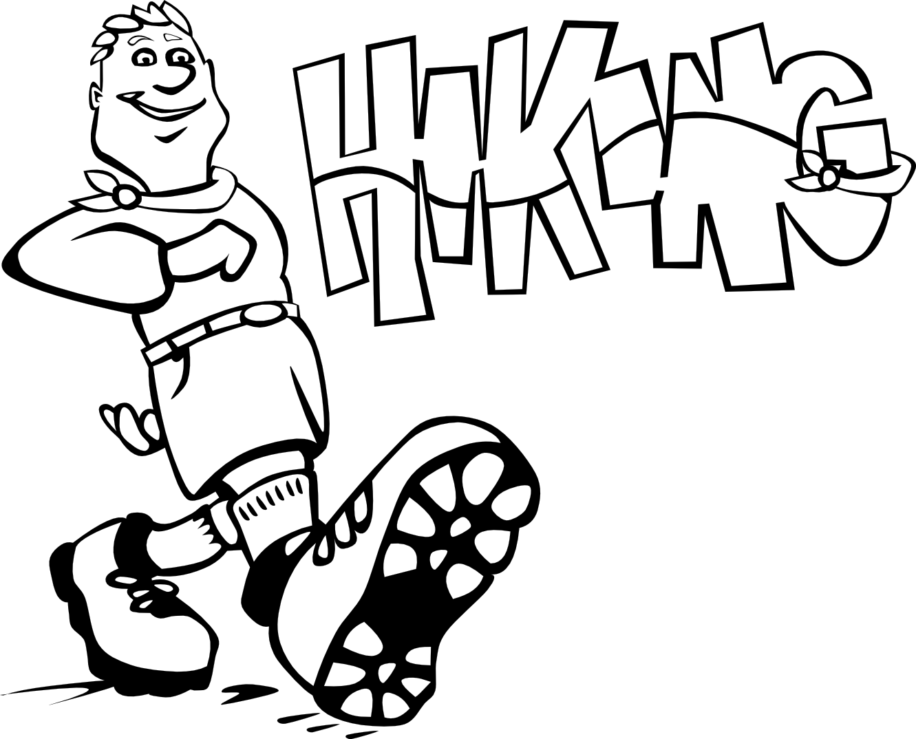 clip free download Hiking clipart black and white. Pictures clip art cliparts