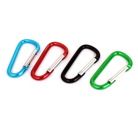 vector black and white stock Travelling camping hook d. Hiking clip