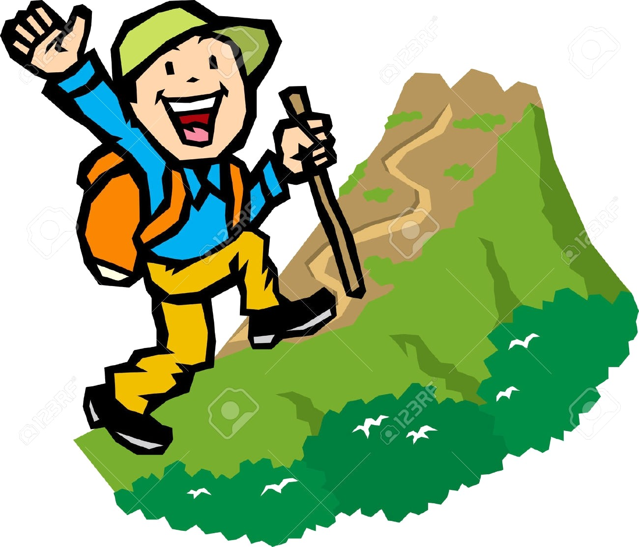 image stock Hiking clipart. Station