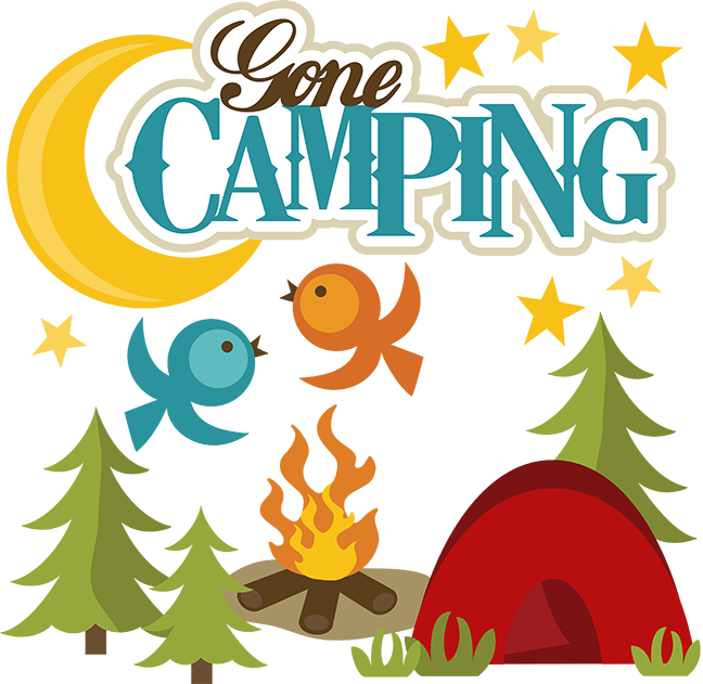 clip free download Free camping clipart borders. Gone svg file for