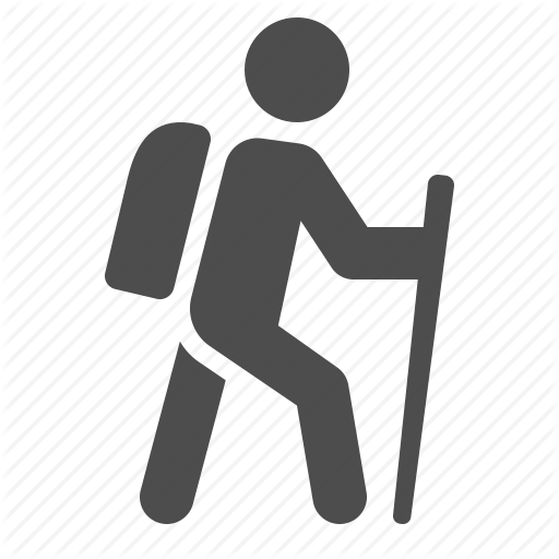 jpg library download walking trail icons