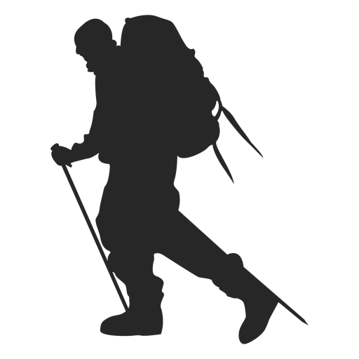 banner black and white library PNG Hiker Free Transparent Hiker