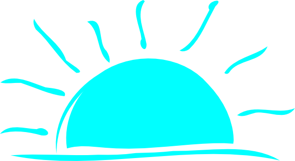jpg library download Sun rise drawing at. Weekend clipart sunrise sunset