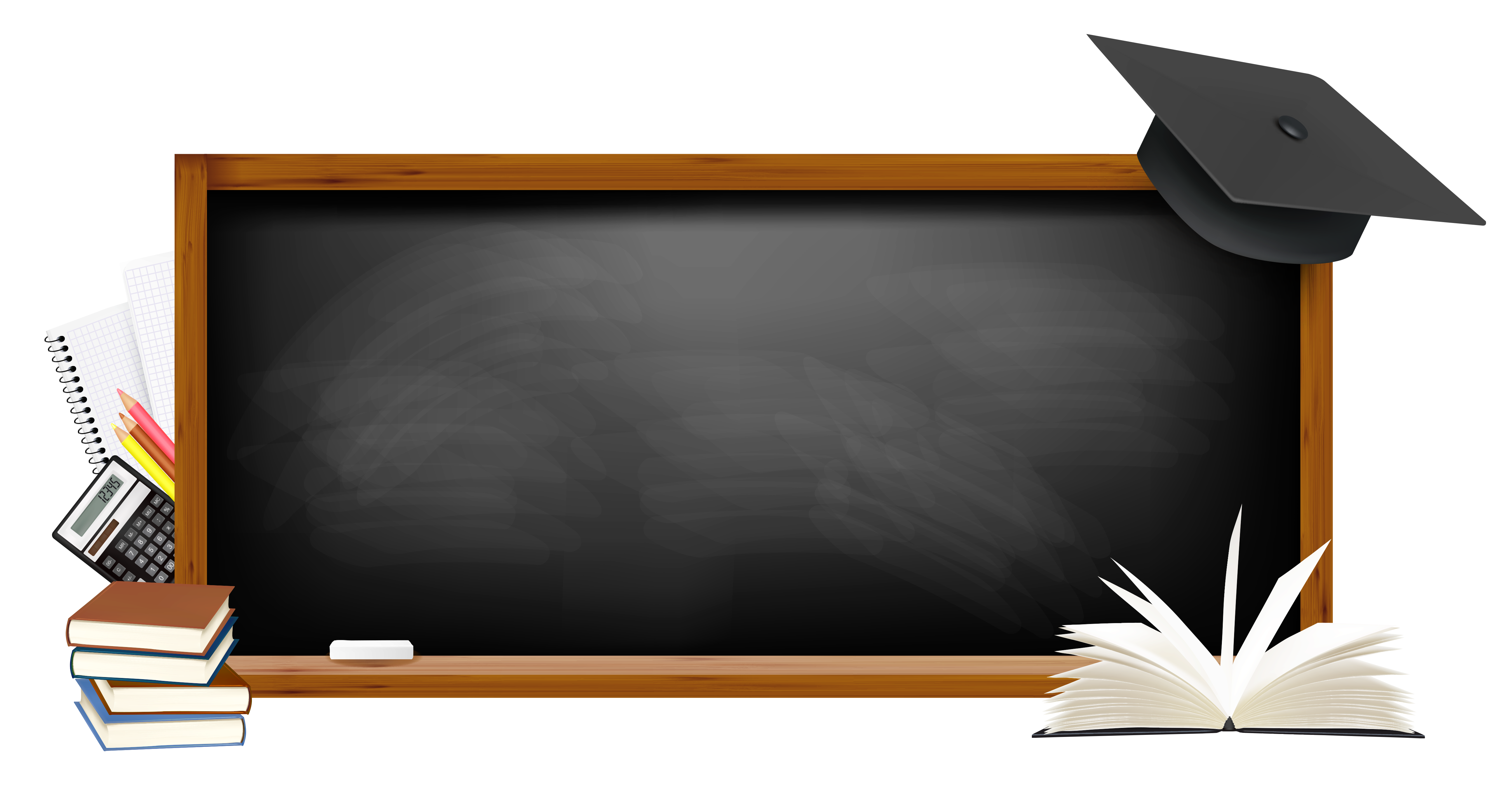 jpg black and white library Black school png picture. Board clipart transparent.