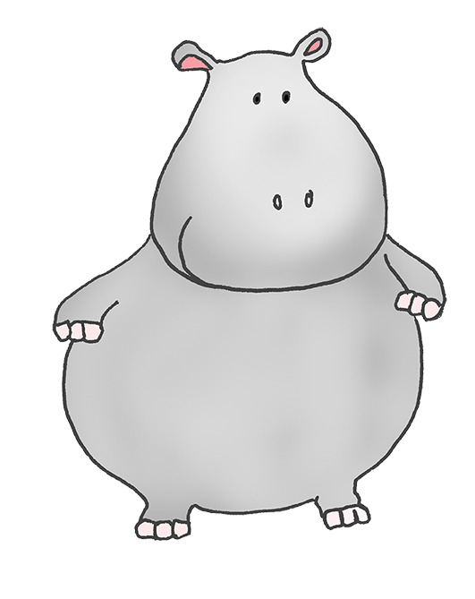 banner black and white stock Hippopotamus clipart. Google search pinterest