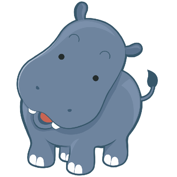 png free Hippo Drawing at GetDrawings