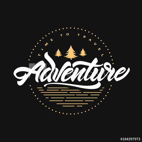 clip transparent library Hipster vector. Adventure awaits time to