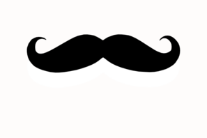 picture royalty free download Moustache Clip Art at Clker