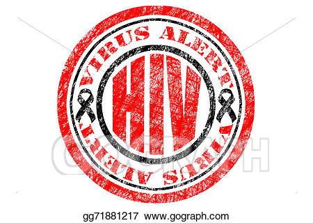 banner freeuse download Stock illustration aids alert. Hiv virus clipart