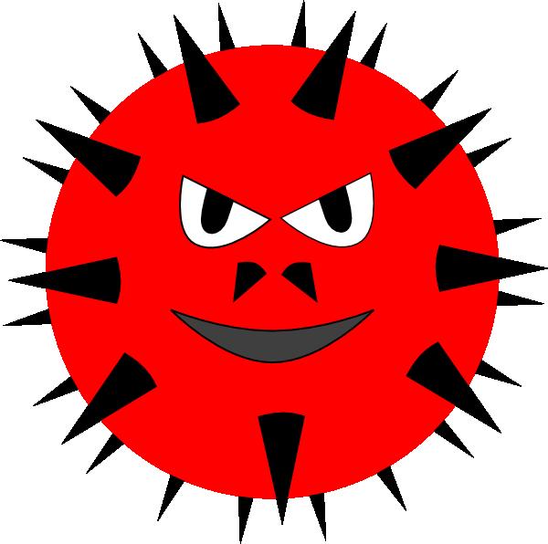 vector royalty free download Evil Virus