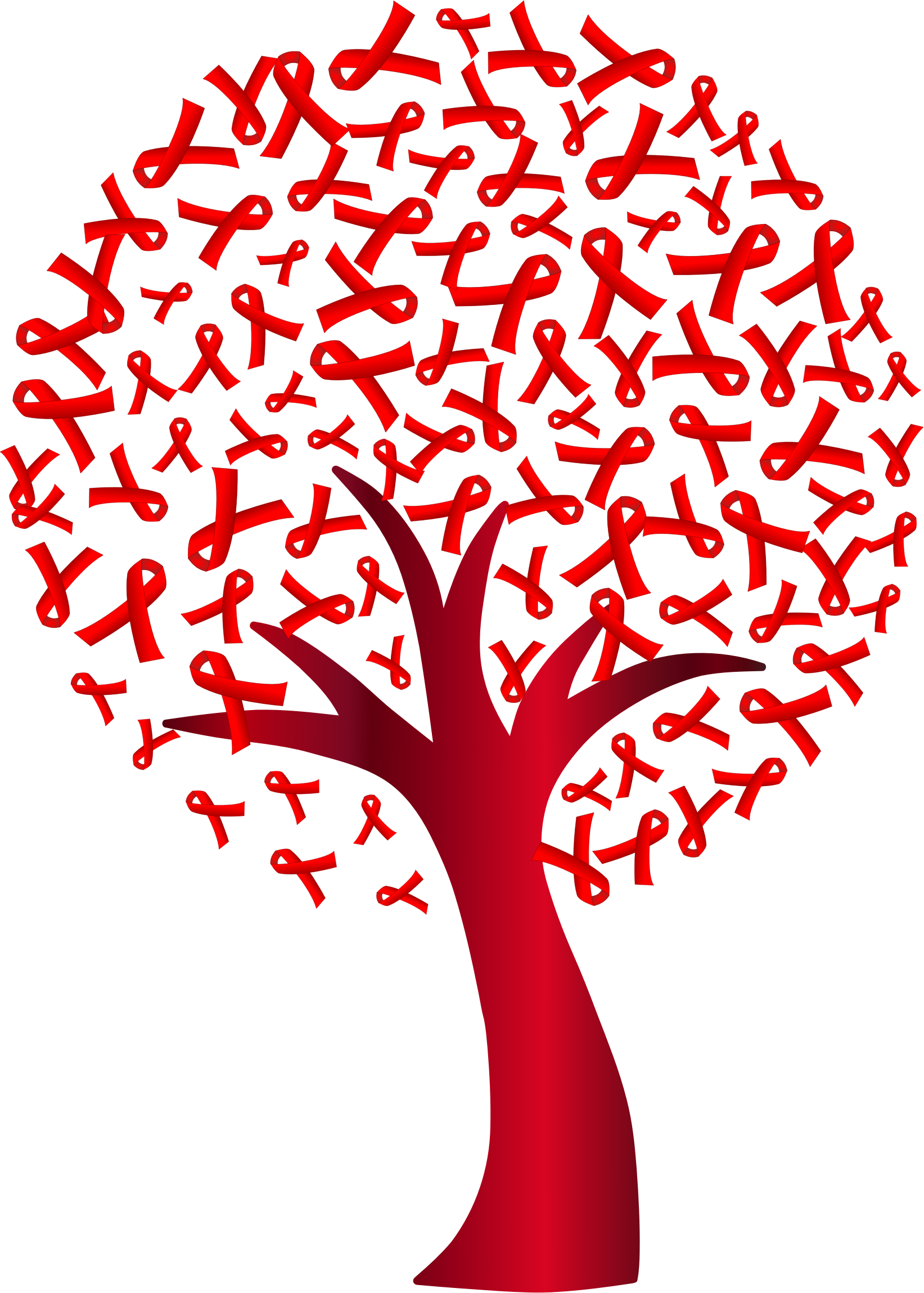 jpg download Hiv virus clipart. World aids day tree