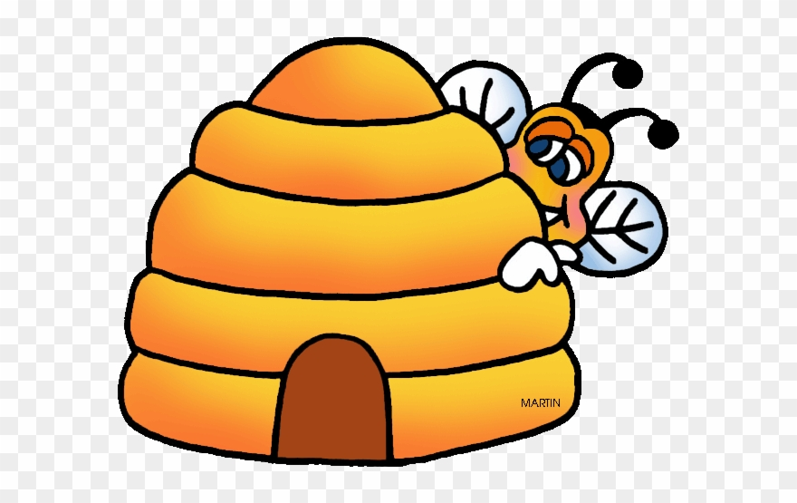 svg royalty free Hive clipart. Bee and honey clip.