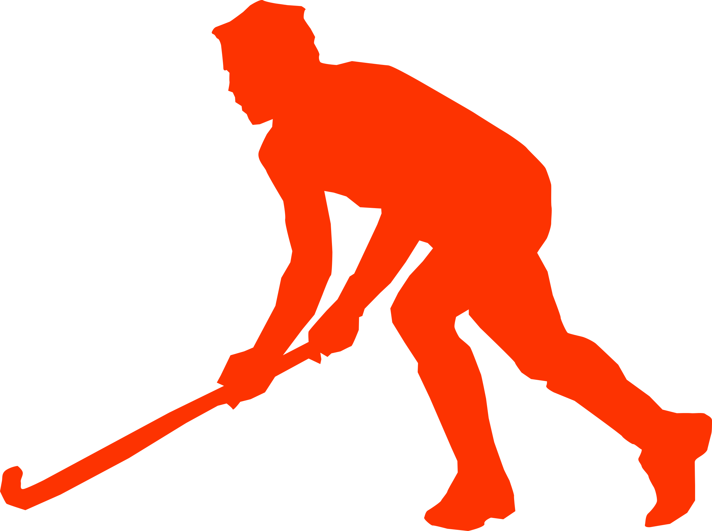 clip download Hockey clipart. Field indian free on.