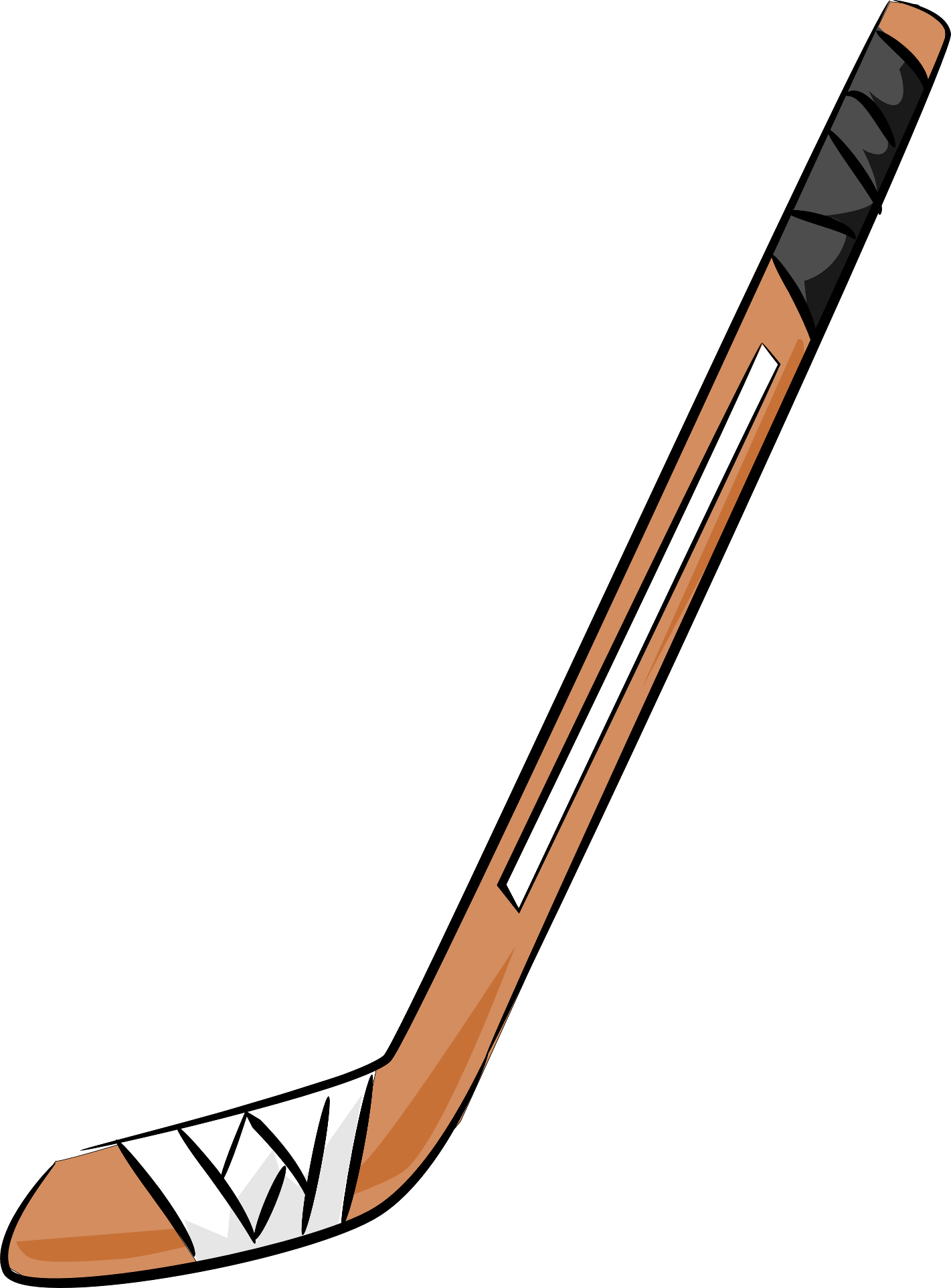 image freeuse stock Ice stick panda free. Hockey clipart.