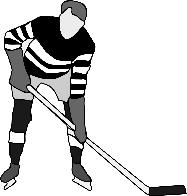 clip black and white download Hockey clipart black and white. Kid cliparting com