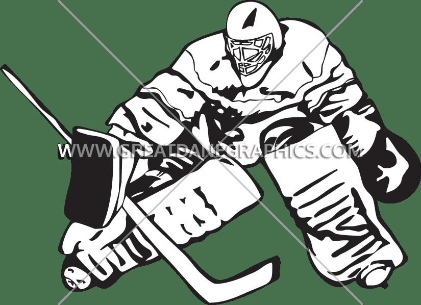 svg transparent download Hockey Goalie Block