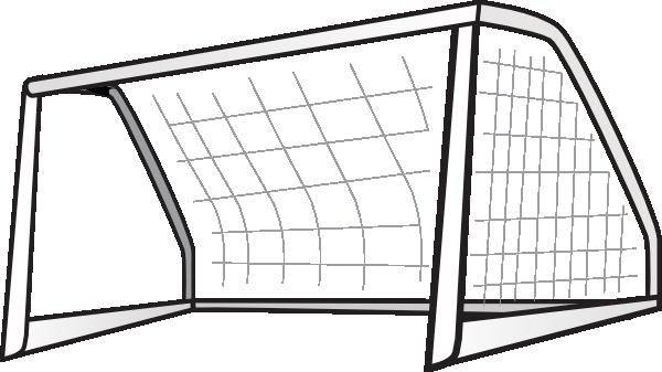 banner black and white Goalnet Clip Art at Clker