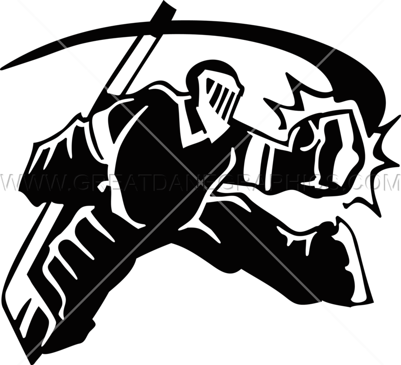 clipart transparent library Hockey Goalie Save
