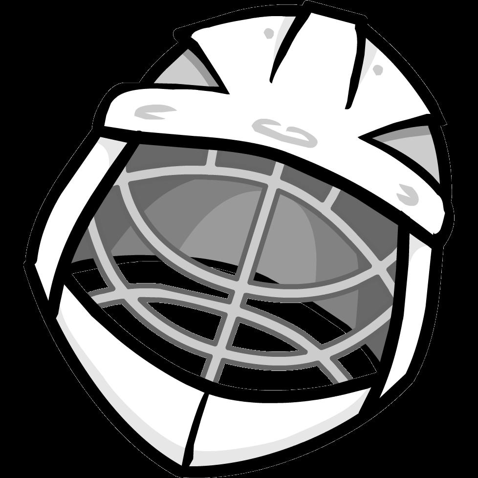 image library stock Goalie Helmet