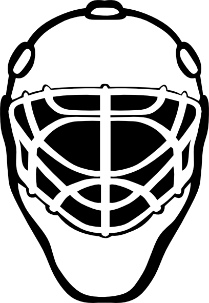 picture transparent download Hockey Goalie Helmets Clipart