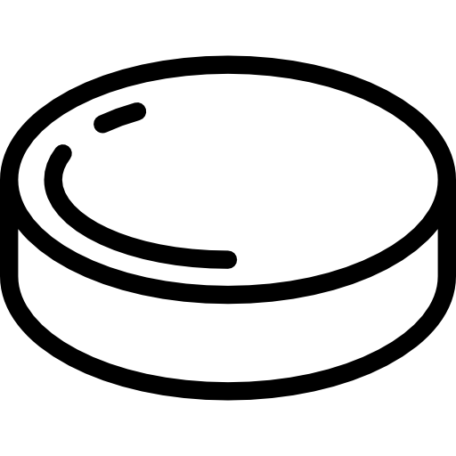 png free download Hockey puck clipart black and white. Icon