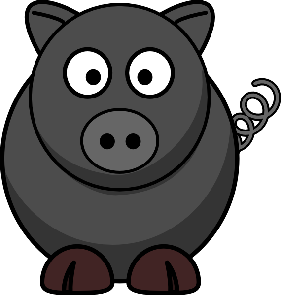royalty free library Hog clipart. Wild boar clip art